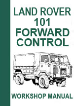 Landrover Forward Control 101 Workshop Repair Manual