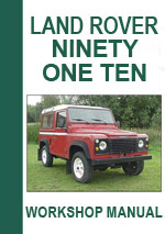 Landrover Ninety & Landrover One Ten Workshop Repair Manual